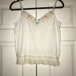 NWT Cynthia Steffe Tank,Size-L on tag(look like S)